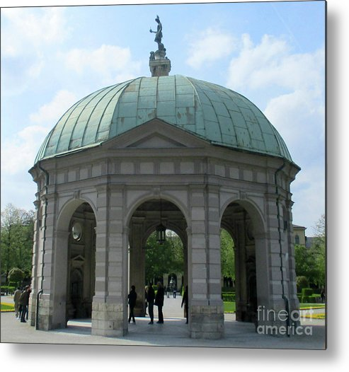 Munich Metal Print featuring the photograph Munich Detail 14 by Randall Weidner