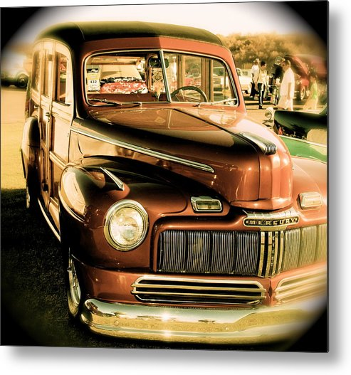 Metal Print featuring the photograph Vintage by Timothy Mangino