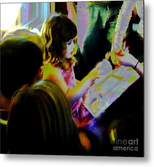 Birthday Metal Print featuring the photograph Friends Gather Round by JoAnn SkyWatcher