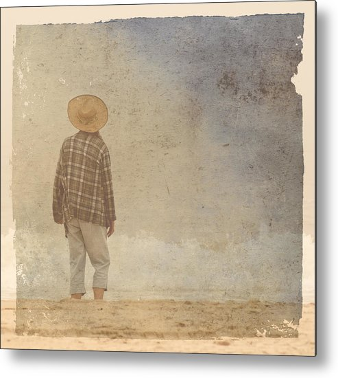 Textures Metal Print featuring the photograph Foggy Day by Roni Chastain