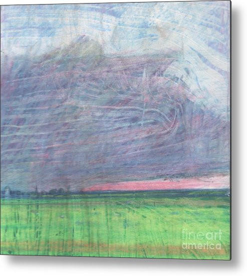 Pilling Metal Print featuring the drawing A View Towards Pilling by Andy Mercer