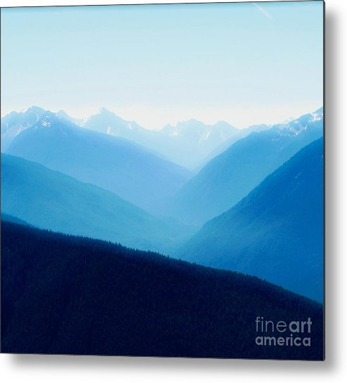 Infinity Metal Print featuring the photograph Blue Infinity by Idaho Scenic Images Linda Lantzy