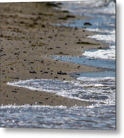 Water Metal Print featuring the photograph Calm Sea by Terepka Dariusz