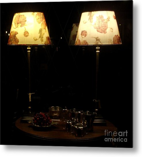 Night Pictures Metal Print featuring the photograph Delicious Night by Valia Bradshaw