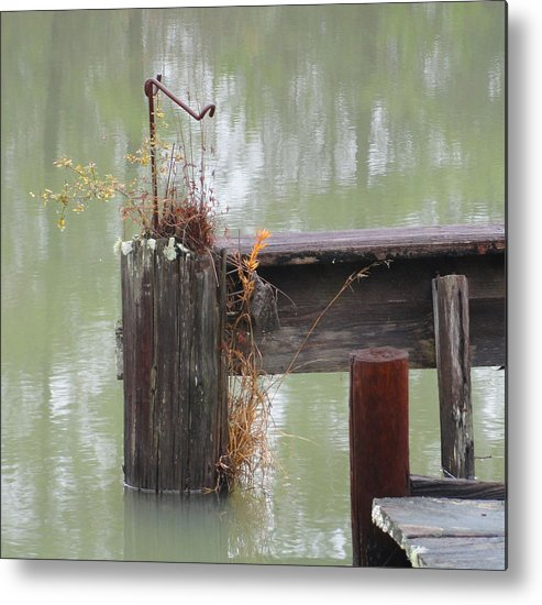 Dock Metal Print featuring the photograph Perseverance by Rodrick Strelau