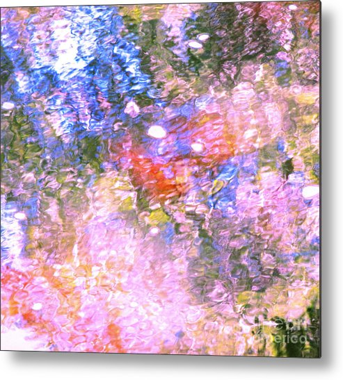 Abstract Metal Print featuring the photograph Reaching Angels  by Sybil Staples