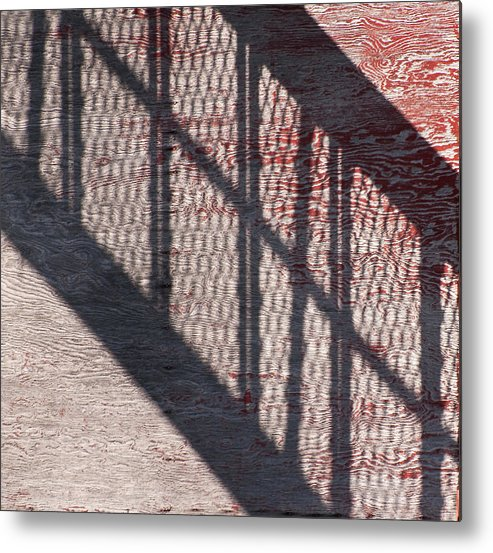 Stairs Metal Print featuring the photograph Up-down Staircase by Nicole Couture-Lord