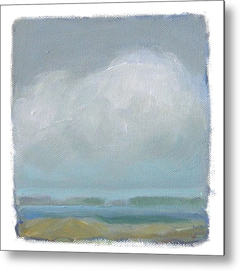 Landscape Metal Print featuring the painting Untitled by Mary Brooking