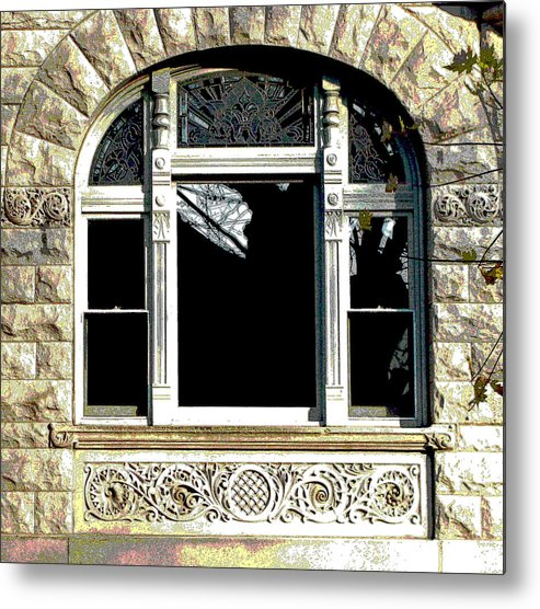 Windows Metal Print featuring the photograph Window Series by Ginger Geftakys