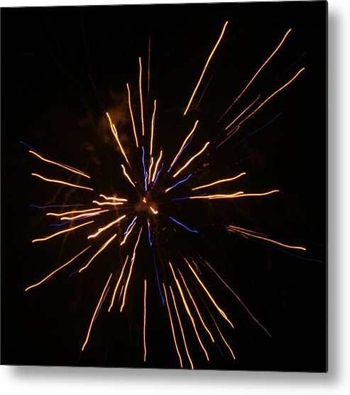 Fireworks Metal Print featuring the photograph Fireworks by Kenna Westerman