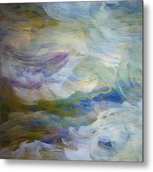 High Water Metal Print featuring the painting High Water by Madina Kanunova