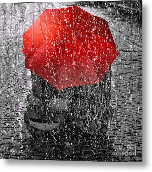 Love Metal Print featuring the photograph Love by Mo T