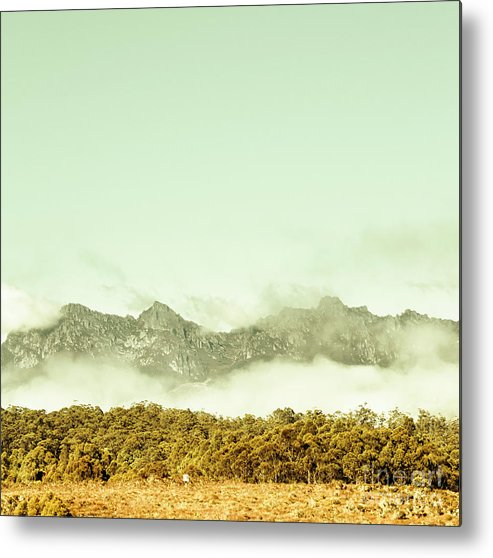 Mountains Metal Print featuring the photograph Majestic Misty Mountains by Jorgo Photography - Wall Art Gallery