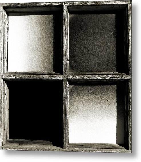 Barn Metal Print featuring the photograph Window Pains by Thomas Shanahan