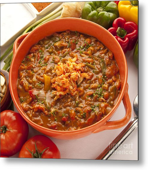 New Orleans Metal Print featuring the photograph Crawfish Etouffe by New Orleans Food