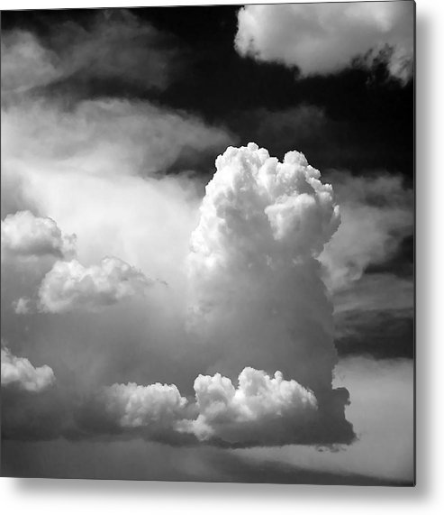 Big Metal Print featuring the photograph Garfield In The Skies by Christine Till