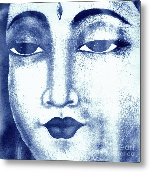 Shiva Metal Print featuring the photograph Shiva by Lauren Johnson