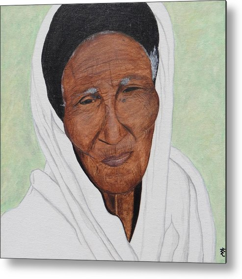 Ethiopia Metal Print featuring the painting Strength by Kurler Warner