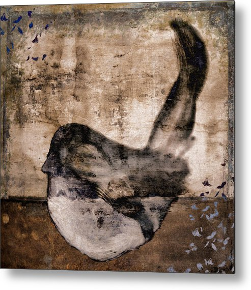 Bird Metal Print featuring the photograph Fledgling 1 by Carol Leigh
