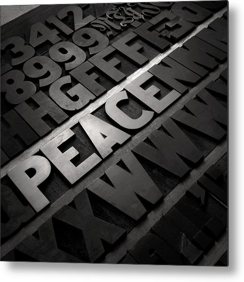 Peace Metal Print featuring the photograph Peace by Tony Ramos