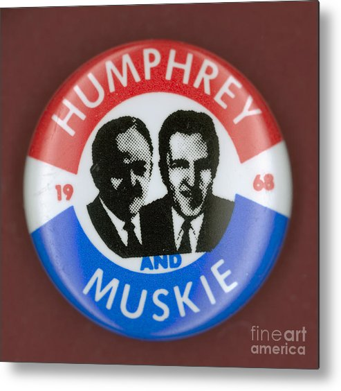 1968 Metal Print featuring the photograph Presidential Campaign, 1968 by Granger