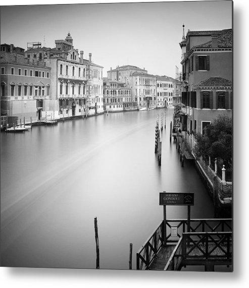 Venice Metal Print featuring the photograph Canal Grande Study Iv by Nina Papiorek