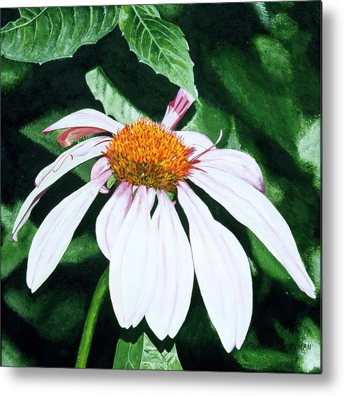 Daisy Metal Print featuring the painting Lazy Day by Carol Messman Steele