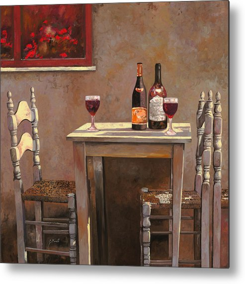 Wine Metal Print featuring the painting Barbaresco by Guido Borelli
