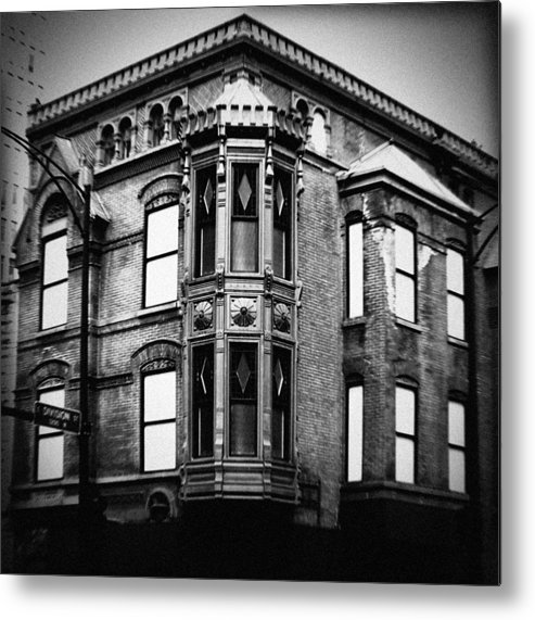 Chicago Metal Print featuring the photograph Chicago Historic Corner by Kyle Hanson