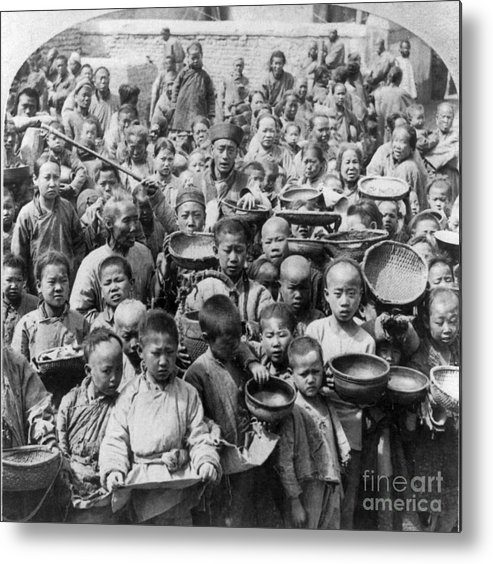 1902 Metal Print featuring the photograph China: Peking, C1902 by Granger