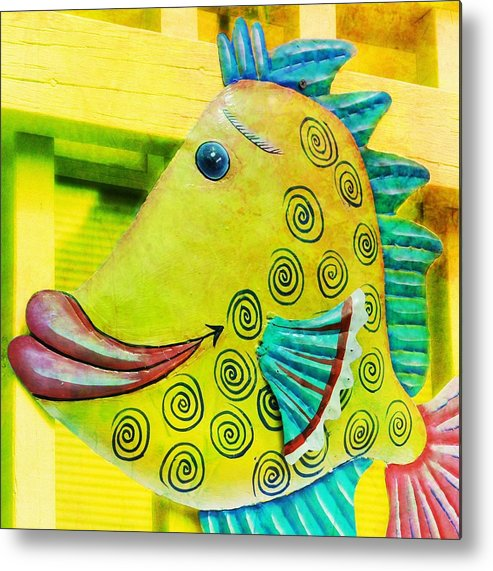 Yellow Metal Print featuring the photograph Color Me Happy by JAMART Photography