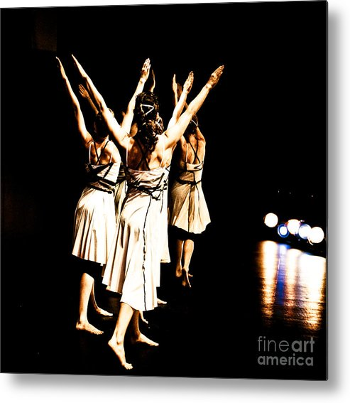 Dance Metal Print featuring the photograph Dance - Y by Scott Sawyer