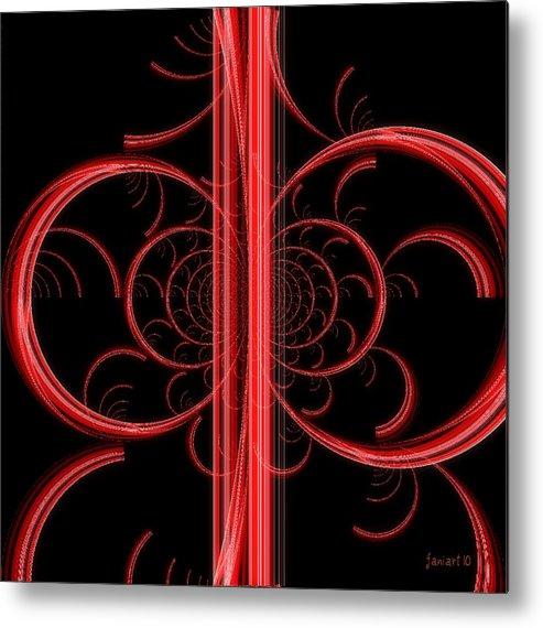 Fania Simon.faniart Metal Print featuring the digital art Devotion by Fania Simon