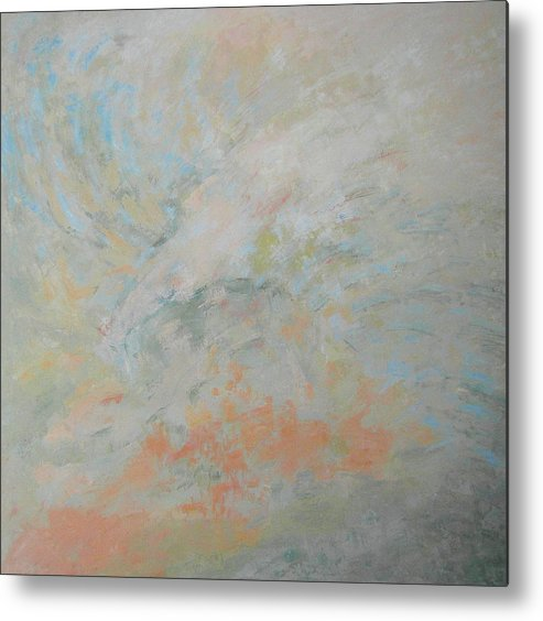 Nature Metal Print featuring the painting Generation Of Nature by Guillermo Serrano de Entrambasaguas