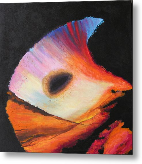 Abstract Metal Print featuring the painting Inspire Two by Stan Hamilton