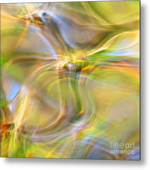 Abstract Metal Print featuring the photograph Free Spirit by Sybil Staples