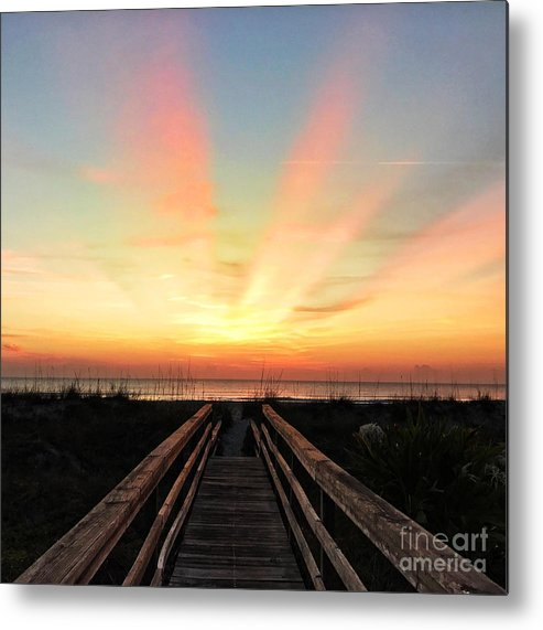 Peace Metal Print featuring the photograph Peace by LeeAnn Kendall