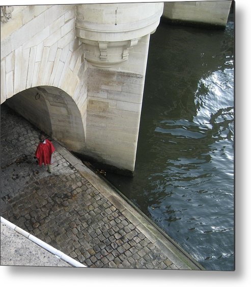 Metal Print featuring the photograph Seine by Victoria Heryet