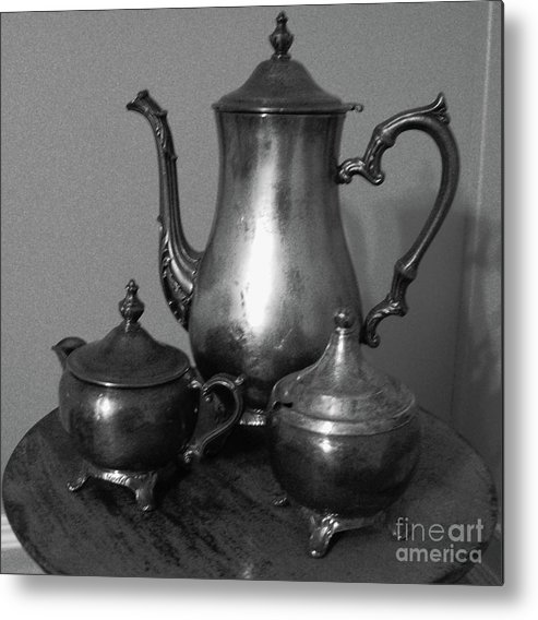 Metal Print featuring the photograph Tea Time by Jason Birdsong