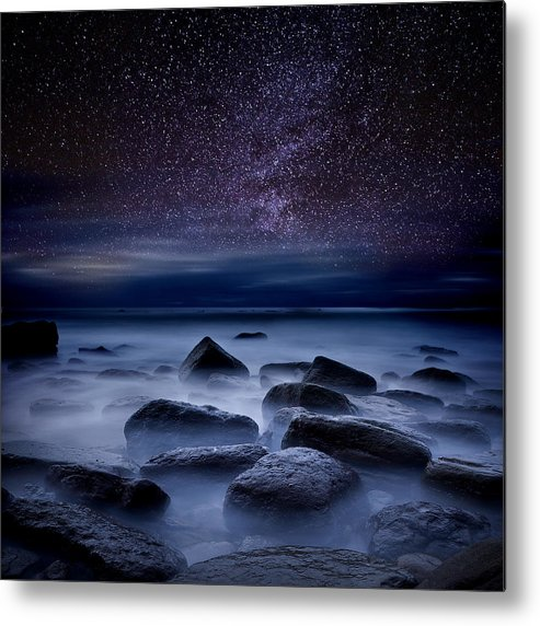 Night Metal Print featuring the photograph Where Dreams Begin by Jorge Maia