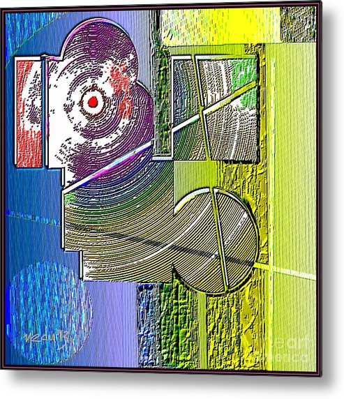 Art Prints Metal Print featuring the painting Digital Design 580 by Nedunseralathan R