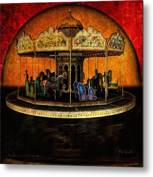 Carnival Metal Print featuring the photograph Painted Ponies by Bob Orsillo