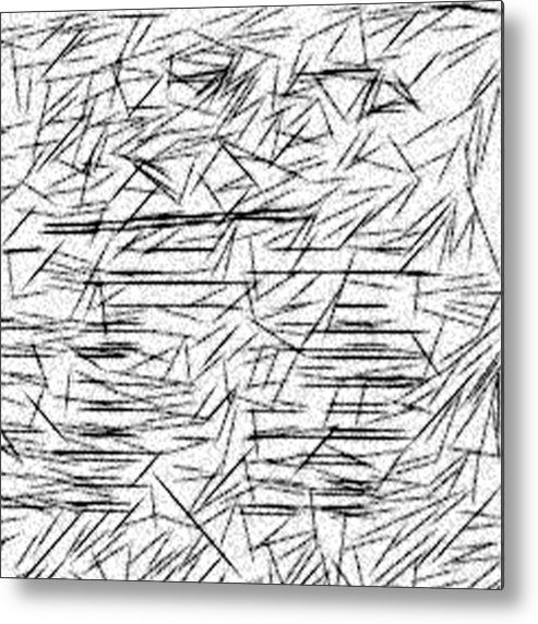 Jonathan Harnisch Metal Print featuring the drawing Postmodern Abstraction by Jonathan Harnisch