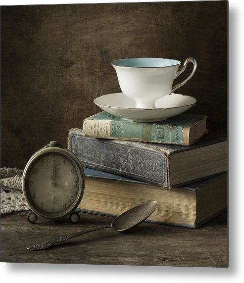 Tea Cup Metal Print featuring the photograph Afternoon Tea by Amy Weiss