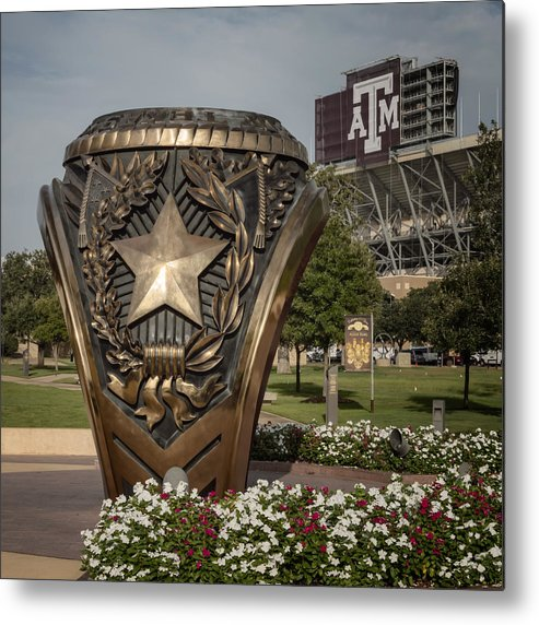 Joan Carroll Metal Print featuring the photograph Aggie Ring by Joan Carroll