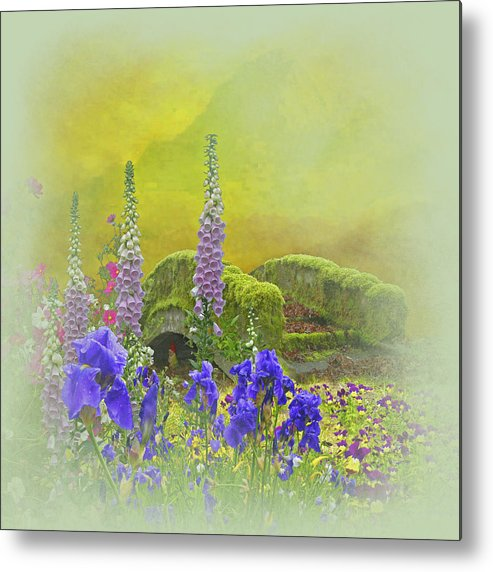 Fusion Photography Metal Print featuring the photograph Another Mythical Landscape by Jeff Burgess