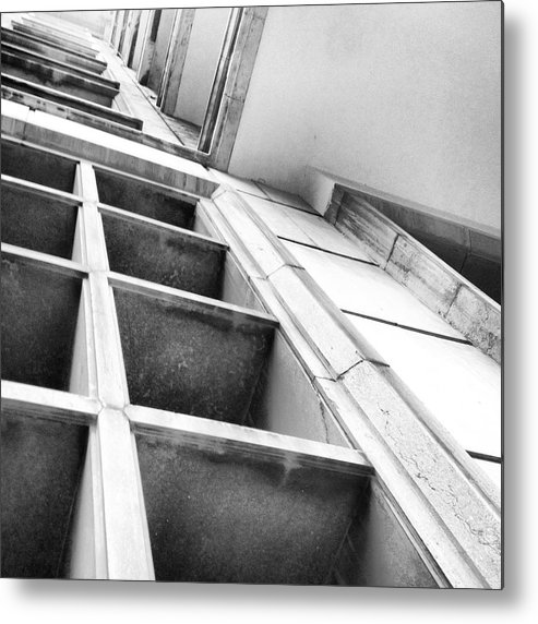 Black And White Metal Print featuring the photograph Another Perspective by Hannah Rose