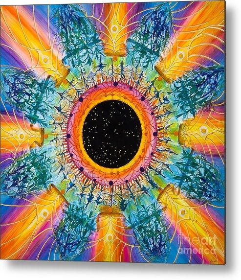 Stars Metal Print featuring the painting Apus Iris Constellation by Presa Hall