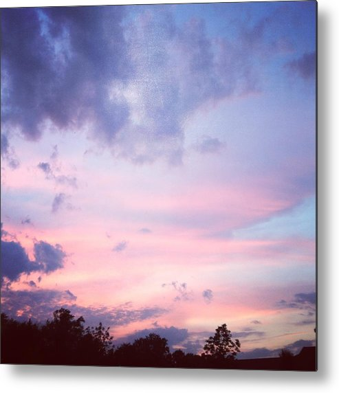 Sunset Metal Print featuring the photograph As The Sun Sets A New Dawn Begins by Stacey Mills
