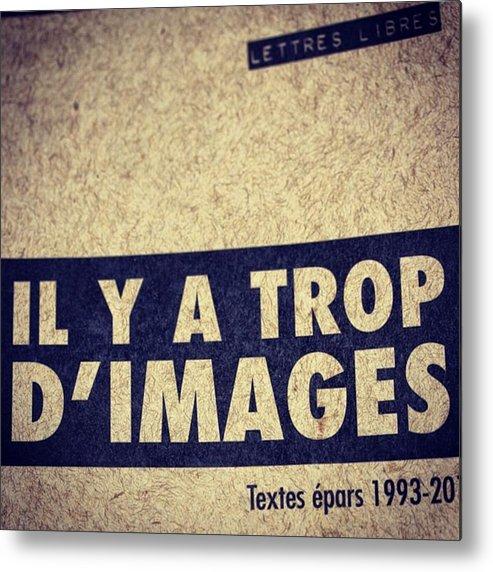 Metal Print featuring the photograph Bernard Emond by Marie-Claude Charron